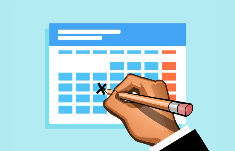 ¿Qué es el calendario laboral de la empresa?