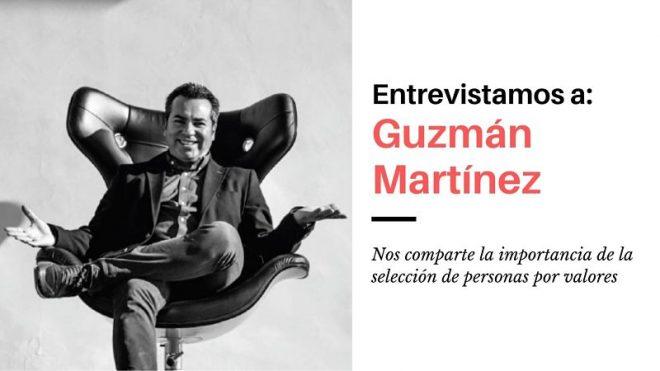 Guzmán Martínez. Experto en selección de personal por valores