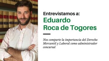 Eduardo Roca de Togores, administrador concursal de empresas